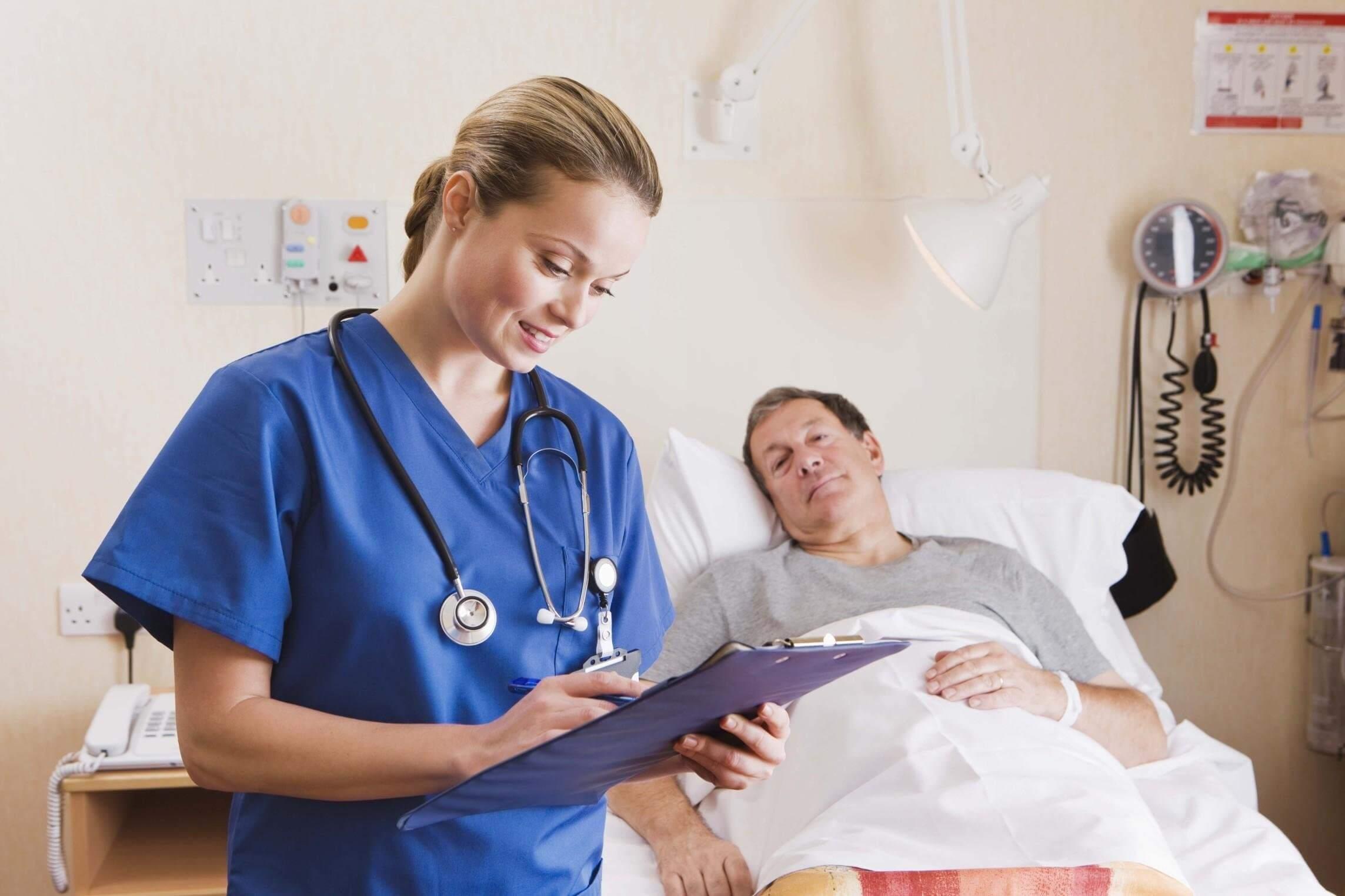 Уход за лежачими больными при онкологии